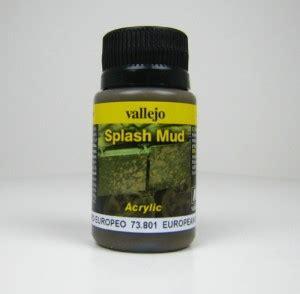 Vallejo European Splash Mud Splash Mud 73801 73801 splash mud european splash mud vallejo 73801