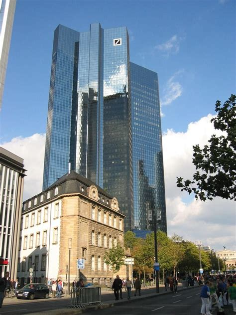 Panoramio Photo Of Deutsche Bank Tower In Frankfurt