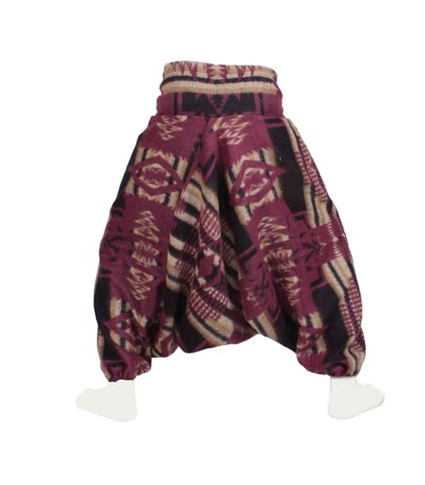 tribal pattern harem pants tribal knitted harem pants bongo junior s knit harem pants