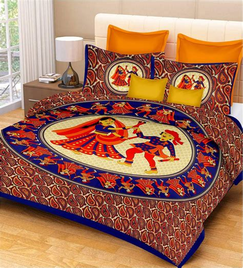 best bed sheets for the price metro living cotton printed double bedsheet buy metro