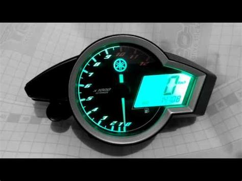 Led Motor Vixion diy simple led gear indicator doovi