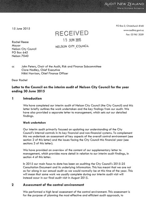 Finance Engagement Letter agenda of audit risk and finance subcommittee 30 july 2015
