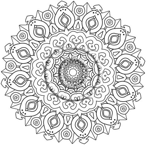 free coloring pages of zentangle easy