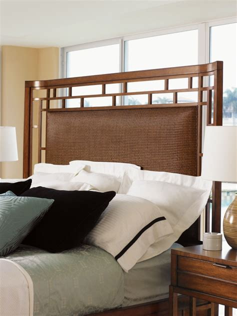 tommy bahama home bedroom paradise point  queen bed