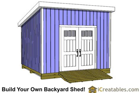12x12 Shed Plans 12x12 Lean To Shed Plans Icreatables