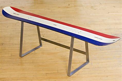 snowboard bench legs eldorado k2 snowboard bench w t stainless steel legs by