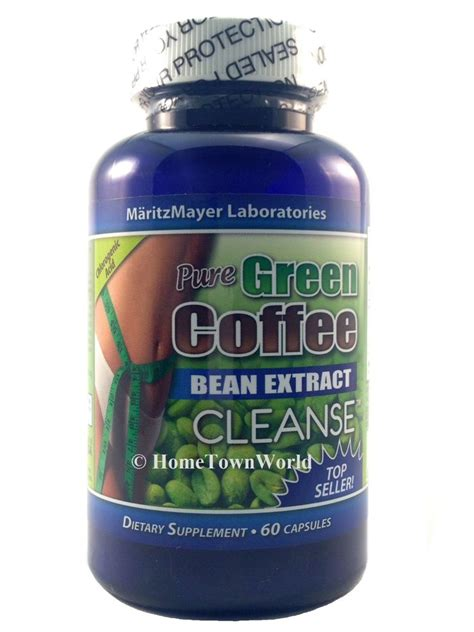 Green Coffee Bean Detox 800 by New Green Coffee Bean Extract Cleanse 800mg Diet