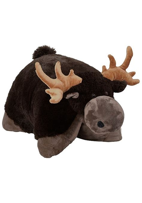 Moose Pillow Pets by 16 Quot Chocolate Moose Pillow Pet