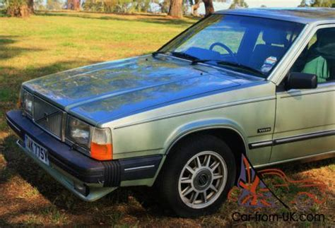volvo v6 1982 volvo 760 gle v6 manual only rhd 6 cyl manual left in