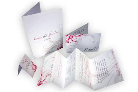 Hochzeitseinladung Ornament by Leporello Hochzeitseinladung Zarte Ornamente