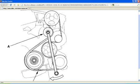 honda crv serpentine belt diagram   replace serpentine