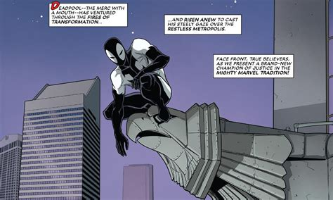 Back In Black 2 by Review Deadpool Back In Black 2 Quot Merc With A Tongue
