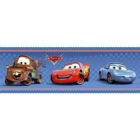 Hello Kitty Themed Bedroom by Disney Cars Blue Self Adhesive Border Rest And Play
