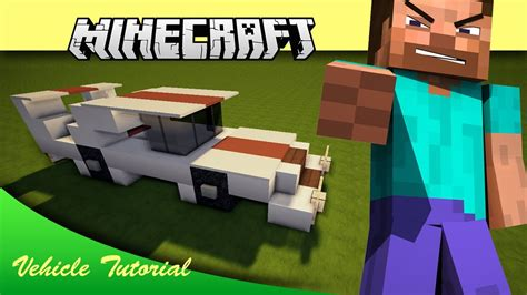 Minecraft Vehicle Tutorial Road Runner Muscle Car Youtube
