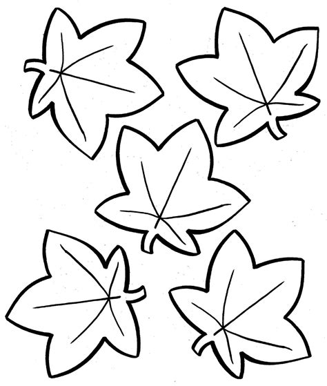 autumn leaves coloring pages free coloring books