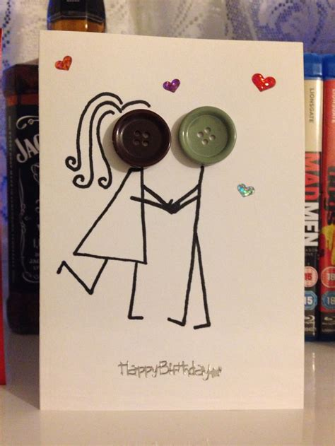 Handmade Cards For Boyfriend - best 20 boyfriend birthday cards ideas on
