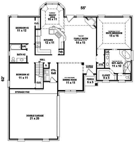 halifax grove traditional home plan 087d 0268 house