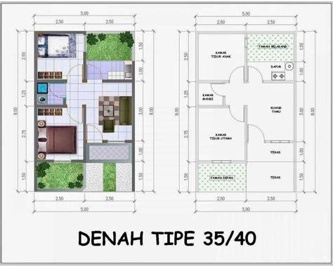 denah rumah minimalis tipe 35 40 desain denah rumah terbaru denah rumah minimalis desain