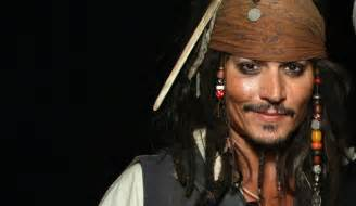 Johnny depp as jack sparrow in pirates of the caribbean image by eric