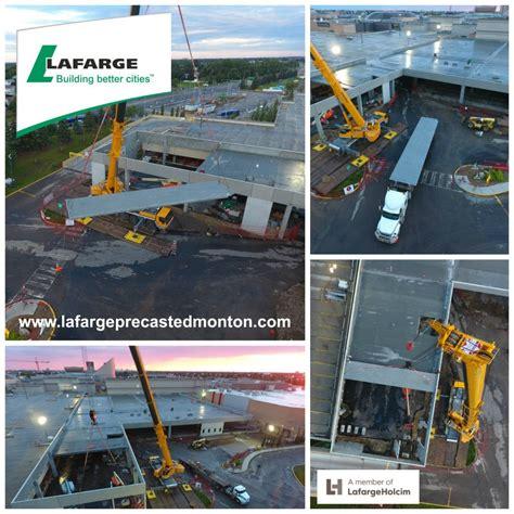 West Edmonton Mall Garage by West Edmonton Mall Parkade E40 Lafarge Precast Edmonton