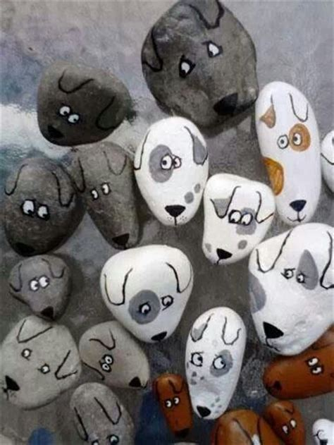 free puppies in rock i would make a bunch then leave one as i go for walks imagine when someone