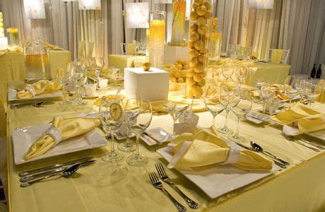 yellow and silver wedding table decor how to choose a