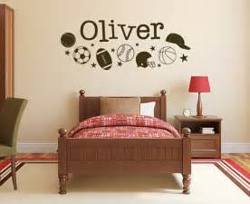 Boys Wall Stickers Sports Decals Sports Stickers Name Decals Sports Wall
