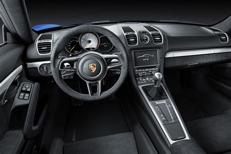 Porsche Cayman Interior by New Manual Only Porsche Cayman Gt4 Is Here To Take On The