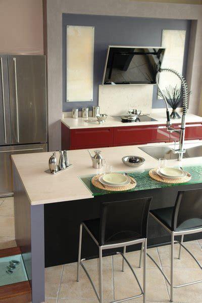 Plan De Travail Ceramique Ou Quartz by Plan De Travail De Cuisine En Granit Silestone Dekton