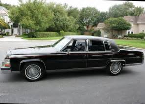 86 Cadillac Fleetwood Pin By David On Tuxedo Black 1986 Cadillac