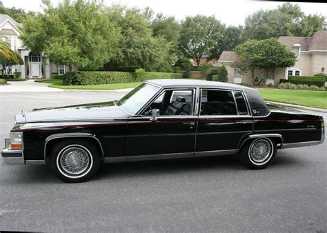 86 Cadillac Fleetwood Brougham by Pin By David On Tuxedo Black 1986 Cadillac