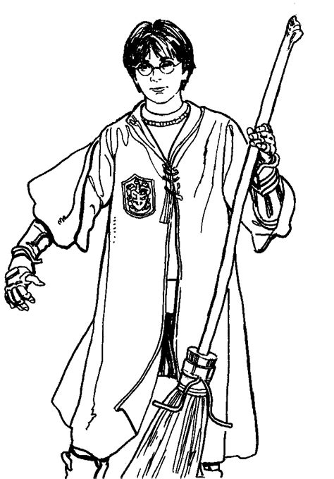 harry potter color pages az coloring pages