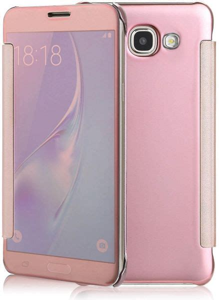 Flip Cover Miror View Samsung J7 Prime souq margoun smart clear view mirror flip cover compatible with samsung galaxy j7 prime