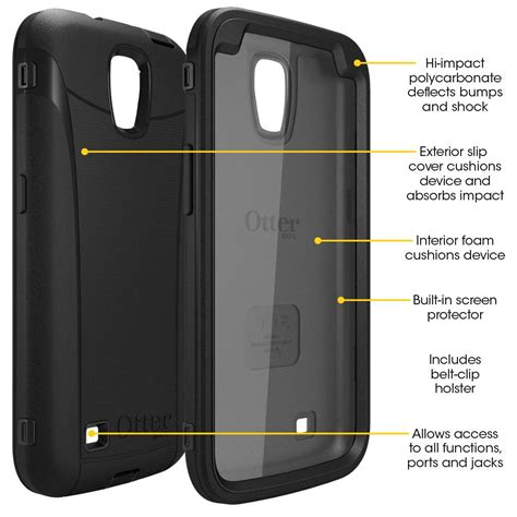 amazon com otterbox defender series for samsung galaxy amazon com otterbox 77 31623 defender series case for