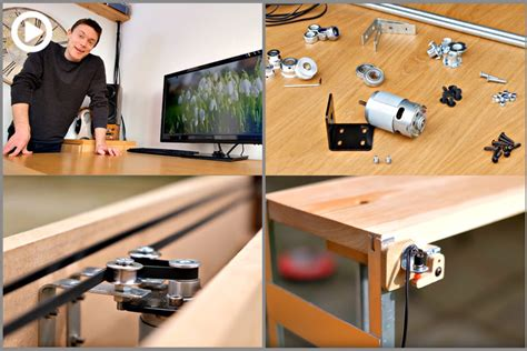 Diy Motorized Desk Diy Build An Affordable Motorized Monitor Lift For Your Desk Best Photography Schools