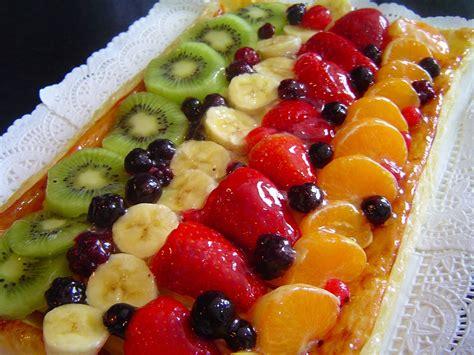 como decorar globos rellenos de harina tarta de hojaldre con frutas 4 5