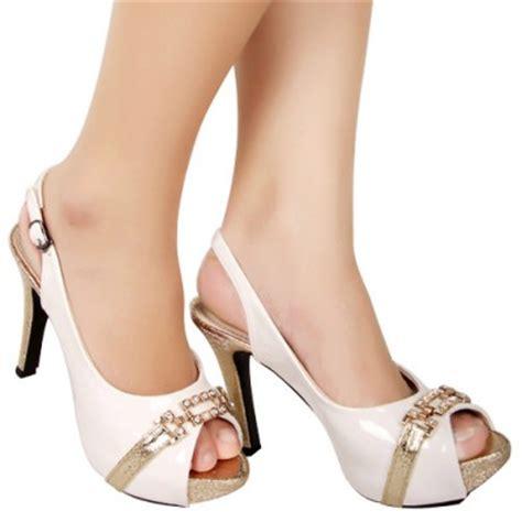 197ta455 Sepatu High Heels Branded Bandung Wanita Perempuan Toko Fashion Wanita Jual Beli Sepatu Wedges High