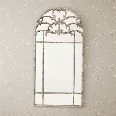 Window Mirrors Decorative by Aged Arched Metal Window Mirror By Decorative Mirrors