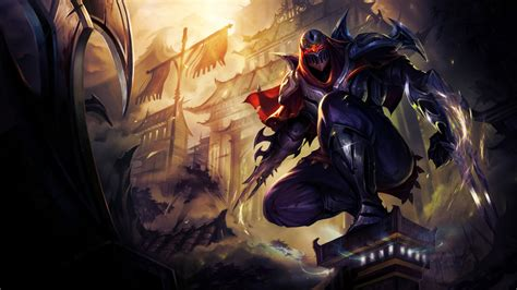 Zed Wallpaper Hd 1920x1080 | league of legends zed 7n wallpaper hd