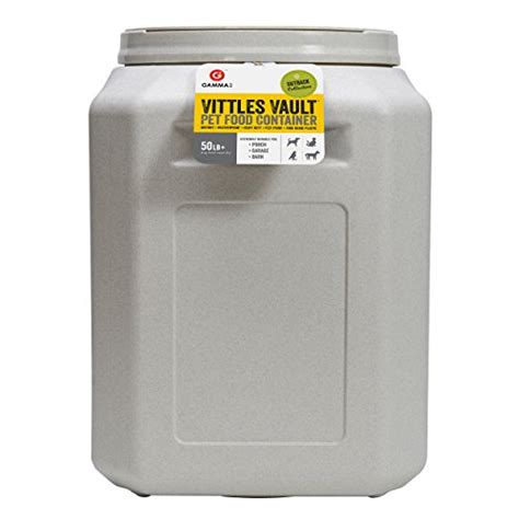 50 lb food vittles vault outback 50 lb airtight pet food storage import it all