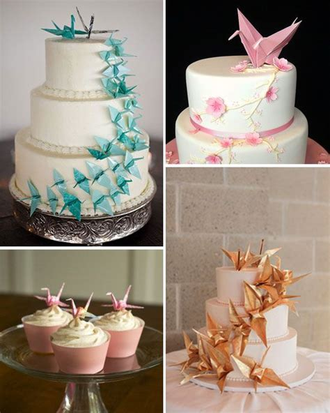 How To Make A Origami Cake - origami cake wedding