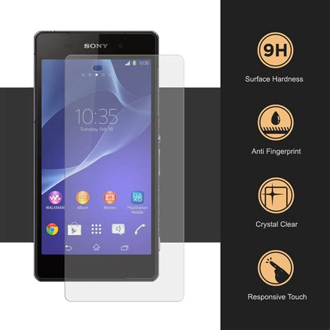 Tempered Glass Z2 9h tempered glass screen protector for sony xperia z2