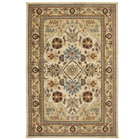 home depot mohawk area rugs mohawk home charisma butter pecan 10 ft x 13 ft area rug 415396 the home depot