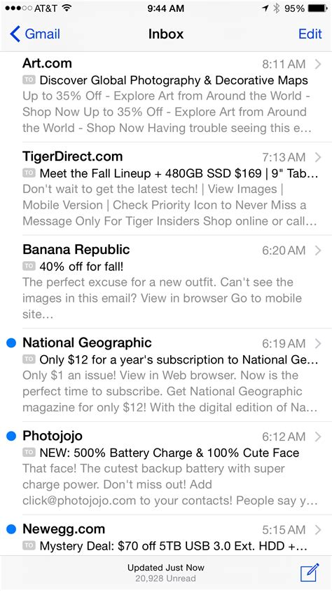 iphone mail layout what marketers need to know about iphone 6 email design