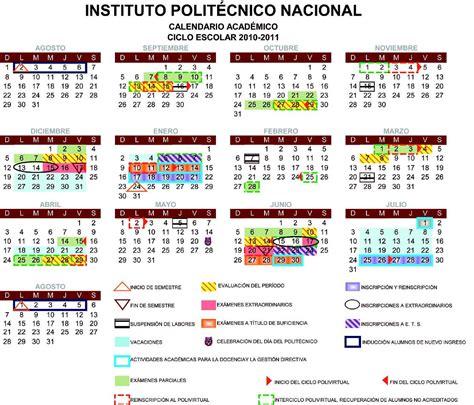 Fin Calendario 2012 Calendarios Escolares 2010 2011 Escolar Mx