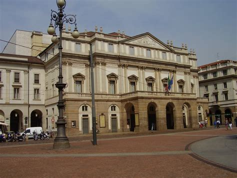 Panoramio Photo Of La Scala Opera House Milan