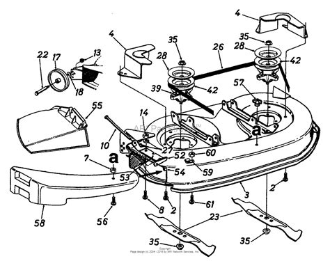 deere 38 mower deck belt diagram cub cadet 38 mower deck belt diagram cub tractor engine