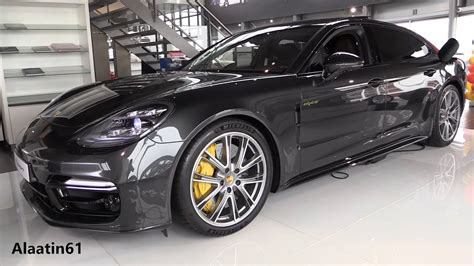 porsche panamera inside inside the porsche panamera turbo s 2018 start up