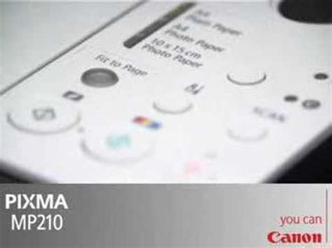 reset mp250 software canon printer mp210 software