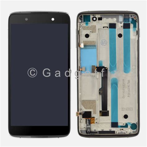 Hp Alcatel One Touch Idol us black alcatel one touch idol 4 6055 6055p lcd touch digitizer assembly frame 232305134134